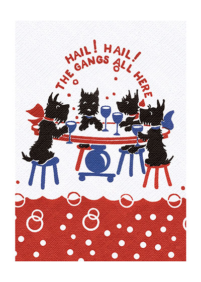Animals Birthday Celebration Dogs Dressed Animals Illustrator: Unknown Imprint: Laughing Elephant Parties'