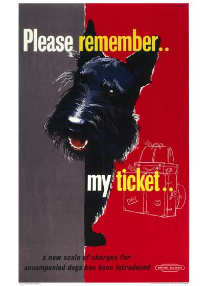 Animals Dogs Imprint: Laughing Elephant Posters Travel United KIngdom'