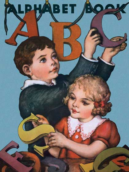 Alphabets Boyhood Childhood Children's Classics Girlhood Illustrator: Unknown Imprint: ArteHouse School'