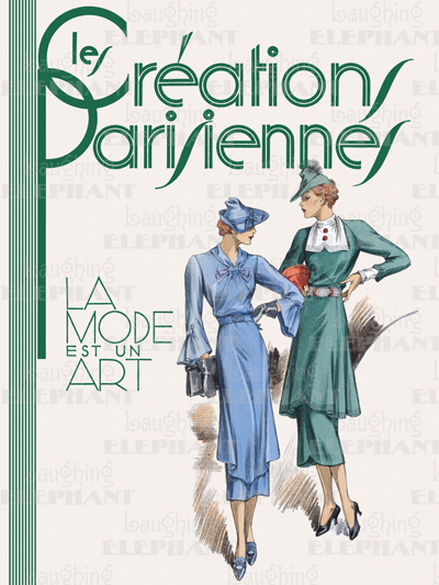 1930's Art Deco Fashion & Beauty France Friendship Illustrator: Unknown Imprint: ArteHouse Paris Shopping Travel Women'