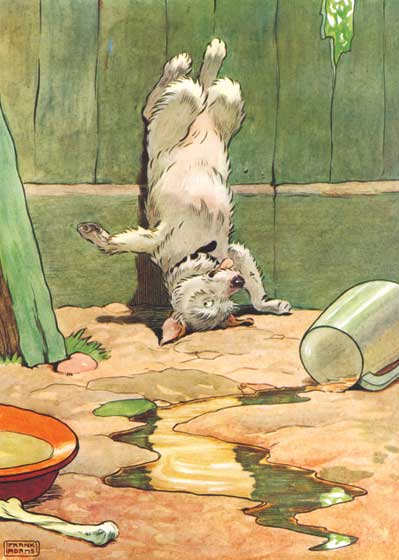 Animals Children's Classics Dogs Humor Illustrator: Frank Adams Nursery Rhymes Pets'
