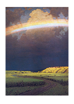 Illustrator: Arkhip Kuindzhi Imprint: Laughing Elephant Rainbows Sky'
