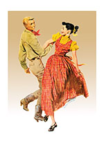 Dancing Illustrator: Tom Hall Imprint: Laughing Elephant Love & Romance Western'