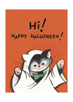Animals Cats Disguise & Costume Halloween Illustrator: Louise Clasper Rumely Imprint: Laughing Elephant Lanterns'