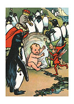 Animals Babies Birds Children's Classics Fairies Illustrator: Rosa C. Petherick New Child Penguins'