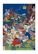 Celebration Food Illustrator: Harrison Cady Imprint: Laughing Elephant Parties'