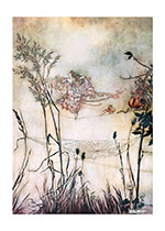 Dancing Fairies Illustrator: Arthur Rackham Imprint: Laughing Elephant'