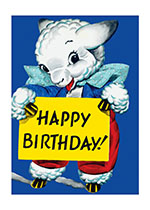 Animals Birthday Illustrator: Unknown Imprint: Laughing Elephant Sheep Smiles & Laughter'