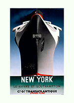 Boats Imprint: Laughing Elephant New York Ocean Posters Travel'