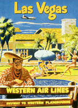 Cowboys & Cowgirls Imprint: Laughing Elephant Las Vegas Planes Posters Summer Swimming Travel Western'