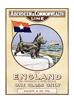 Animals Boats Dogs Imprint: Laughing Elephant Ocean Posters Travel United KIngdom'