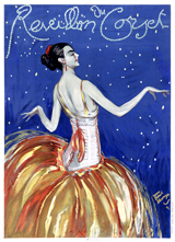 Advertising Art Fashion & Beauty France Illustrator: Jean-Gabriel Domergue Imprint: Laughing Elephant Night Posters Women'