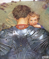 Arthur & His Knights Babies Family Father's Day Fathers Imprint: Laughing Elephant New Child'