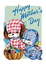 Animals Cats Dogs Imprint: Laughing Elephant Mother Mother's Day Spring Toys'
