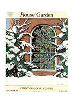 1910's Christmas Home Imprint: Laughing Elephant Windows'
