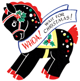 Animals Christmas Horses Imprint: Laughing Elephant Toys'