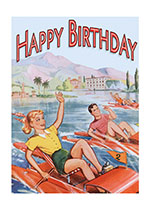 Birthday Boats Illustrator: Unknown Imprint: Laughing Elephant Summer Vacations Women Athletes'