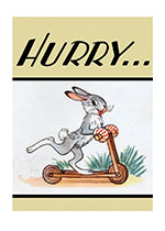 Animals Illustrator: W. Sutejew Joy Playing Rabbits'