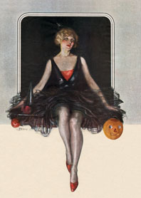 Fashion & Beauty Halloween Illustrator: Unknown Imprint: Laughing Elephant Jack-o-Lanterns Women'