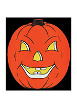 Halloween Illustrator: Unknown Imprint: Laughing Elephant Jack-o-Lanterns Kitsch Smiles & Laughter'