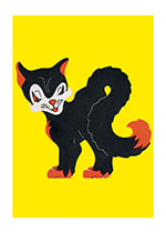 Animals Cats Halloween Illustrator: Unknown Imprint: Laughing Elephant Smiles & Laughter'