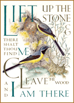 *spring2013 Animals Author: Gospel of Thomas Birds Christianity Illustrator: Marie Angel Inspiration Literature Nature Religion'
