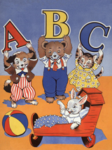 Alphabets Animals Babies Baby Animals Bears Cats Childhood Dogs Illustrator: Unknown Imprint: ArteHouse New Child Rabbits'