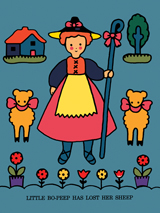 Animals Childhood Children's Classics Fairy Tales Girlhood Illustrator: Unknown Imprint: ArteHouse Nursery Rhymes Sheep'
