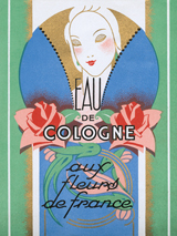 Advertising Art Art Deco Fashion & Beauty Flowers France Illustrator: Unknown Imprint: ArteHouse Perfume Women'