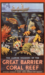 Advertising Art Australia Fish Illustrator: Unknown Imprint: ArteHouse Nature Ocean Travel'