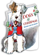 Animals Boxed Cards Card Packets Christmas Dogs Illustrator: Various Imprint: Laughing Elephant Pets'