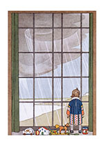 Childhood Children's Classics Home Illustrator: H. Willebeek Le Mair Rain Toys Windows'