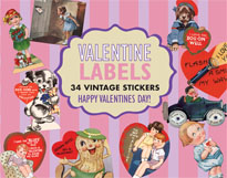 Imprint: Laughing Elephant Labels & Decals Valentine's Day'