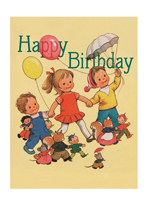 Balloons Childhood Illustrator: Mabel Lucie Attwell Smiles & Laughter'