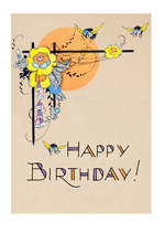 Birthday Flowers Illustrator: Unknown Imprint: Laughing Elephant Nature'