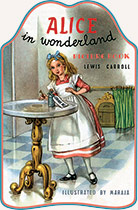 Alice in Wonderland Animals Childhood Children's Classics Daydreams Dressed Animals Girlhood Illustrator: Maraja Rabbits Storybooks Tea Time Transformation Weird & Wonderful'