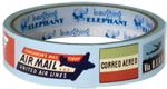 Air Mail Imprint: Laughing Elephant Tape Travel'