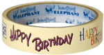 Birthday Childhood Imprint: Laughing Elephant Tape'