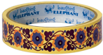 Flowers Imprint: Laughing Elephant Patterns Tape'