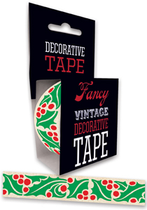 Art Deco Christmas Holidays Imprint: Laughing Elephant Tape'