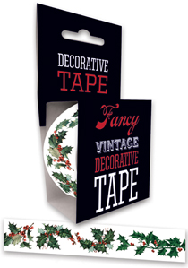 Christmas Holidays Imprint: Laughing Elephant Tape Victorian'