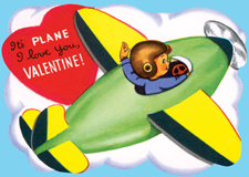 Boyhood Childhood Hearts Holidays Illustrator: Unknown Imprint: Laughing Elephant Love & Romance Planes Valentine's Day'