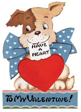 Animals Dogs Hearts Holidays Illustrator: Unknown Imprint: Laughing Elephant Love & Romance Pets Valentine's Day'