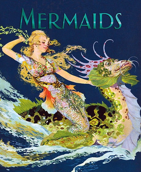 Mermaids This book celebrates the mermaid in all her guises, and includes many rare illustrations. These beautiful creatures of the oceans are women in their upper body, with a fish-like tail below. Seafarers have long encountered them, leading to encounters both tragic, romantic and fortuitous. We have accompanied our own musings on mermaids with quotes from a wide variety of literary sources, both old and new.