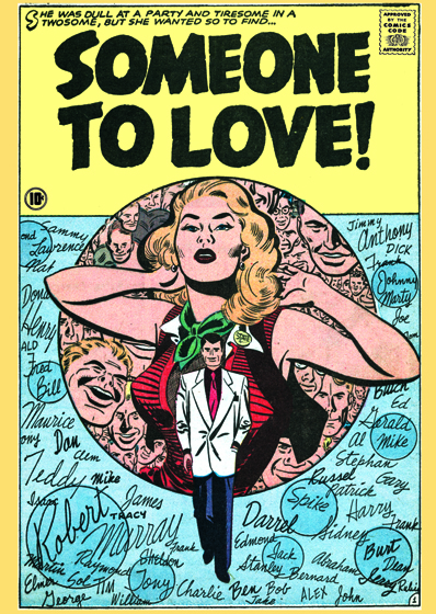 Someone to Love | Romance Comics Graphic Design Art Prints These prints are made at our location in Seattle, WA. They have a thick, white backing board and are sealed in clear bags. Each is suitable for framing at 11 inches x 14 inches or can be used as is for wall display. Our goal is to bring back to life these wonderful illustrations from old-fashioned, children's books and from early advertising art.