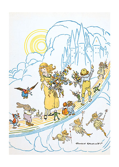 The Bridge to Storyland | Storybook Classics Greeting Cards