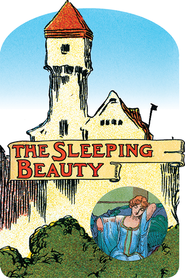The Sleeping Beauty After being snubbed by the royal family, a malevolent fairy places a curse on a princess that only a prince can break. The classic tale is presented here in a vintage die cut collector's edition.