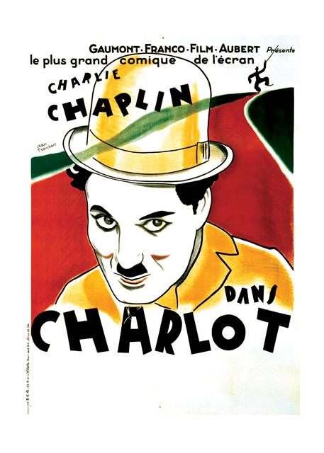 Charlie Chaplin: The Tramp | Retro Movie Posters Performing Arts Greeting Cards Charlie Chaplin