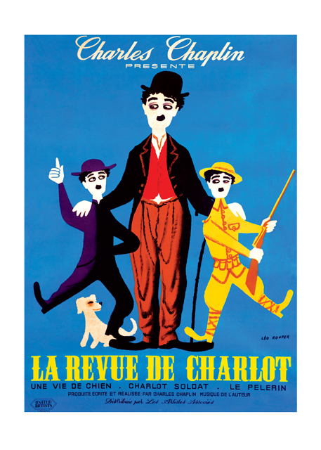 Charlie Chaplin: The Chaplin Revue These prints are made at our location in Seattle, WA. They have a thick, white backing board and are sealed in clear bags. Each is suitable for framing at 11 inches x 14 inches or can be used as is for wall display. Our goal is to bring back to life these wonderful illustrations from old-fashioned, children's books and from early advertising art.  Charlie Chaplin The Chaplin Revue, 1959