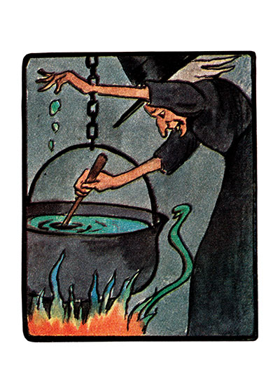 Witch Brew on the Boil | Classic Halloween Greeting Cards Bubble, bubble, toil and trouble.  Shakespeare understood the chilling thrill of witches and their nasty brews.